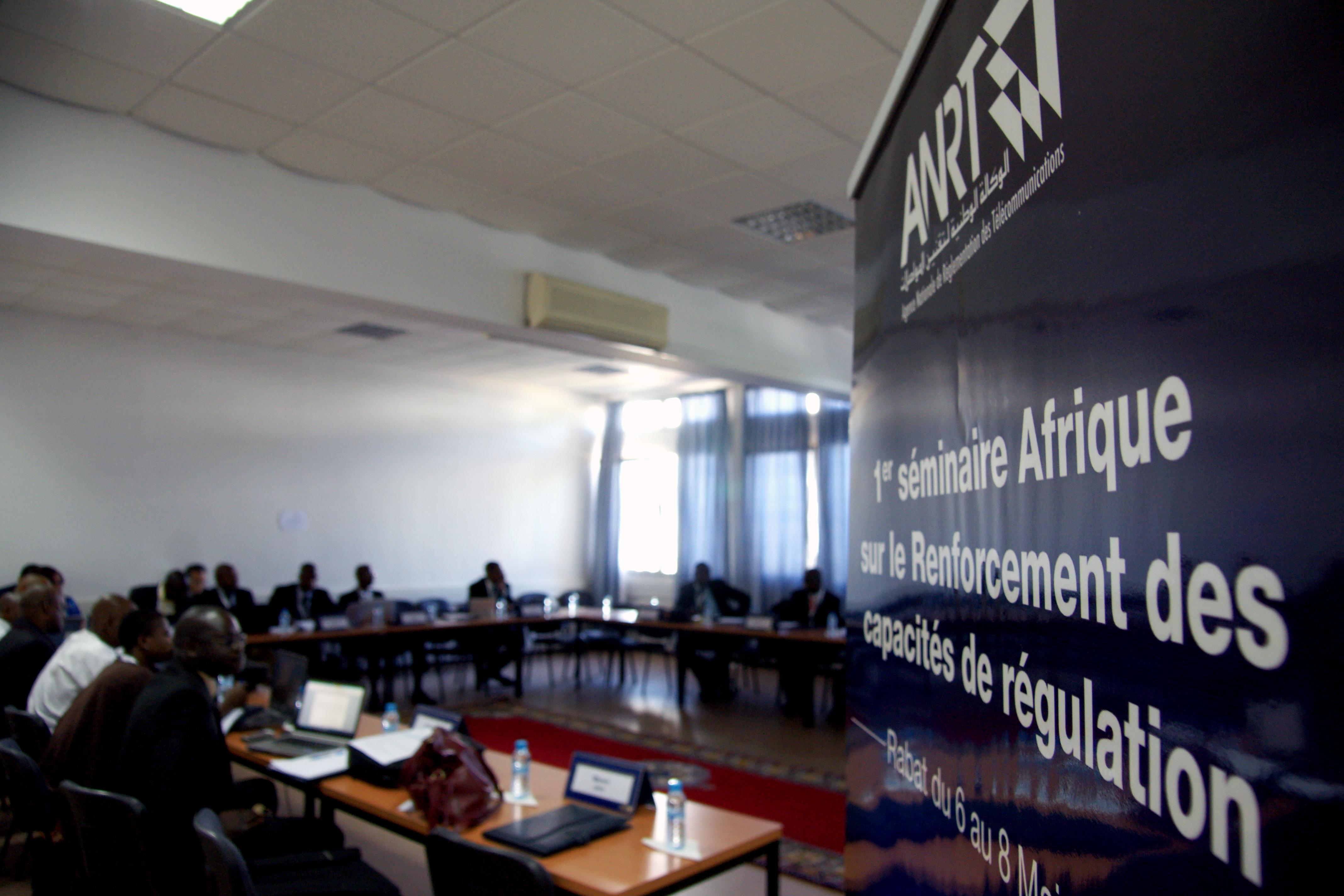 séminaire Afrique sur le renforcement des capacités de régulation des télécommunications